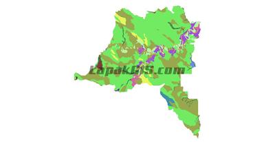SHP Shapefile Peta Jenis Tanah Seluruh Indonesia Sumber Data Kementerian Pertanian 2015