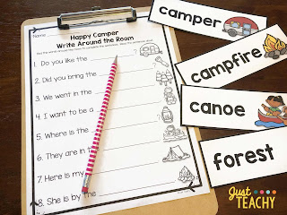 camping-themed-write-around-the-room