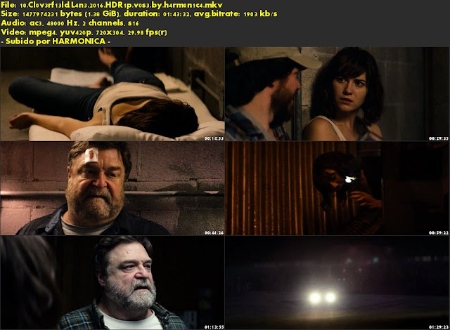 Descargar 10 Cloverfield Lane Subtitulado por MEGA.