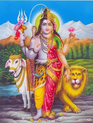 അർദ്ധനാരീശ്വരാഷ്ടകം Ardhanareeswara Ashtakam Malayalam Lyrics
