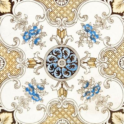 Gambar Dekoratif Pola Elemen Emas Vector Royal