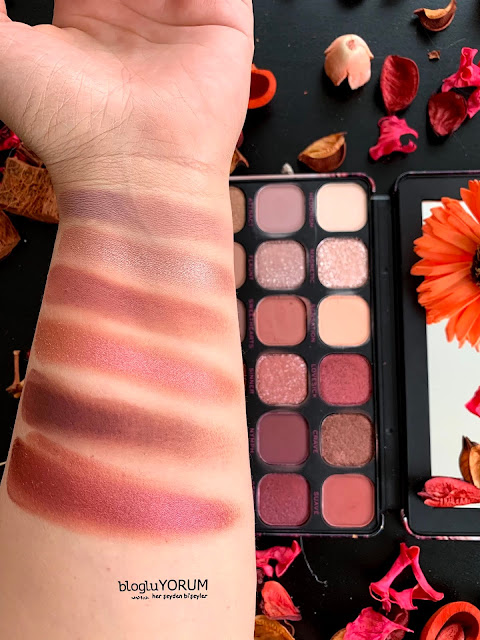 Makeup Revolution Forever Flawless Allure Far Paleti swatch 2
