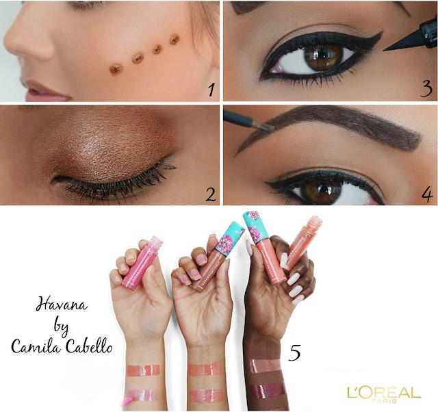 maquillaje-loreal-havana-camila-cabello