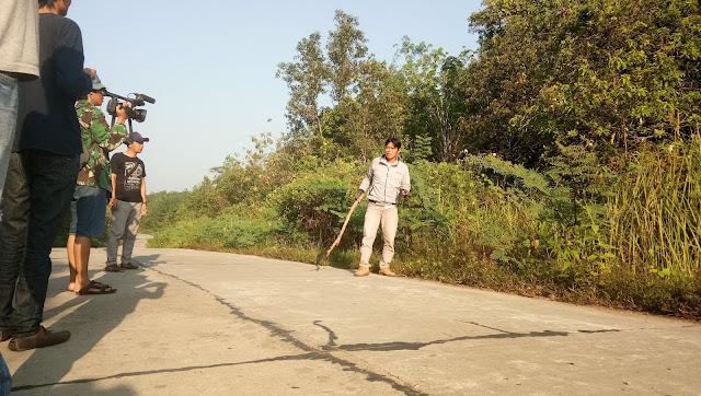 Kali Kedua Wartawan Kabupaten PALI, Ditodong Senpi Kawanan Begal