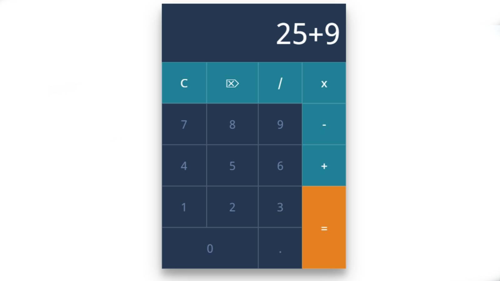 Simple JavaScript calculator Tutorial for Beganers