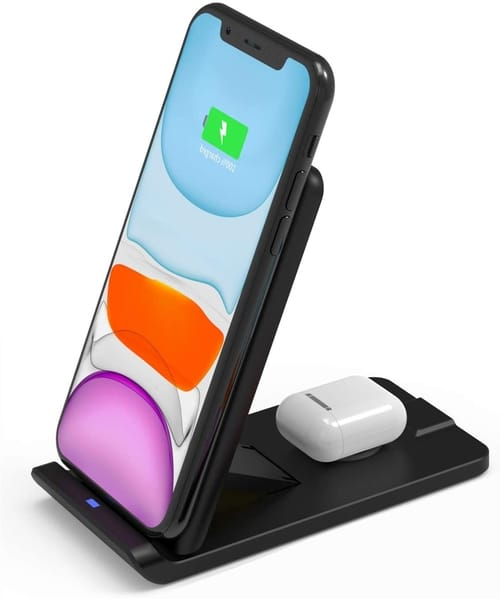 ToneGod 2 in 1 Qi-Fast 10W Max Wireless Charging Stand