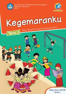Buku Kurikulum 2013 SD Kelas 1 Tema 2 Buku Siswa Revisi 2014
