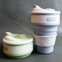 Souvenir Gelas Lipat Collapsible Cup Silicone