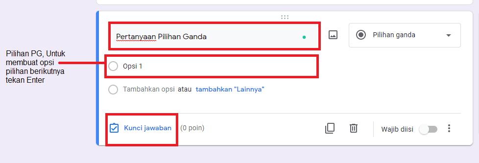 Cara Membuat Soal Di Google Drive 2021 Giant Fahrianto