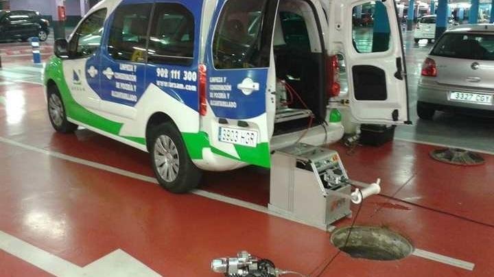 Cámaras TV para inspeccionar tuberías en Madrid