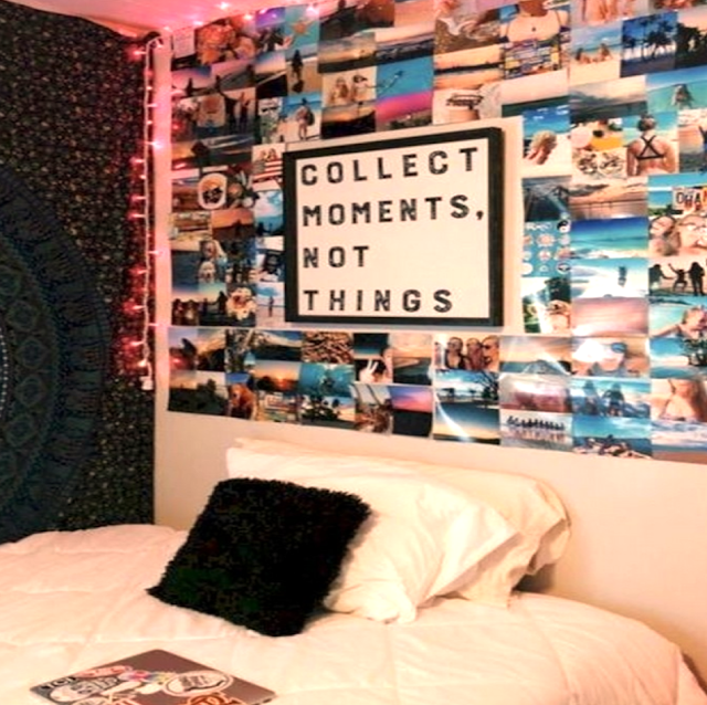 beautiful wall for dorm room