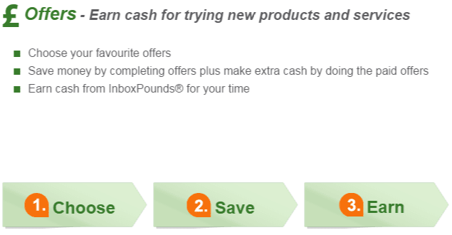 Cash offers | Inbox pounds