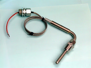 engine compressor thermocouple