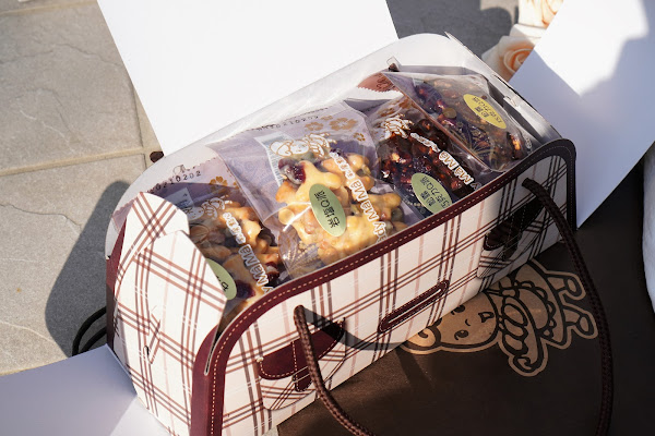 台南東區美食【LADY MAMA 私房點心】餐點介紹-松露巧克力Q派/岩鹽Q派 12入禮盒裝