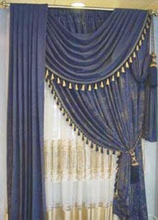 المجموعه الرابعه من احدث وارقى تصميمات الستائر لجميع الاذواق Curtains 2014