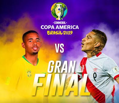 Jadwal Siaran Langsung Final Copa America 2019