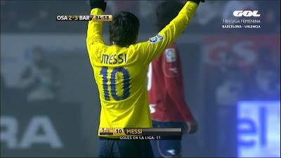 LFP-Week-18 Osasuna 2 vs 3 Barcelona 11-01-2009