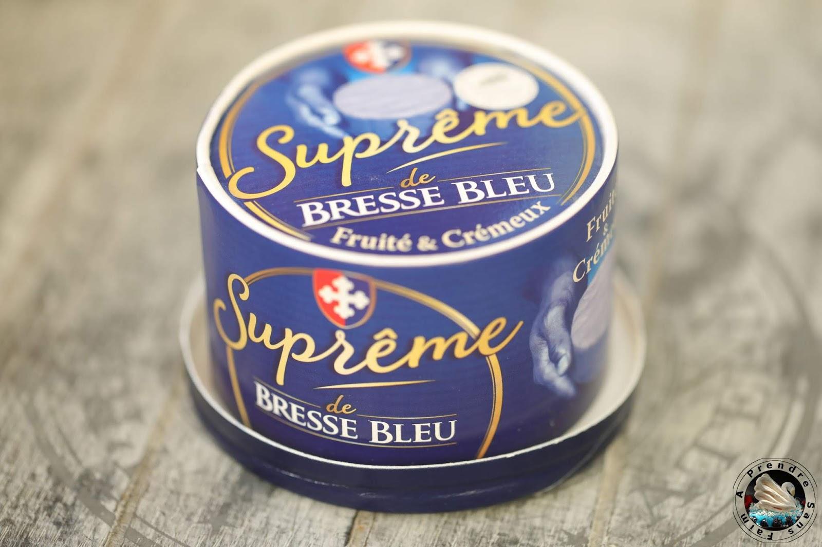 Allumettes apéritives au Suprême de Bresse Bleu
