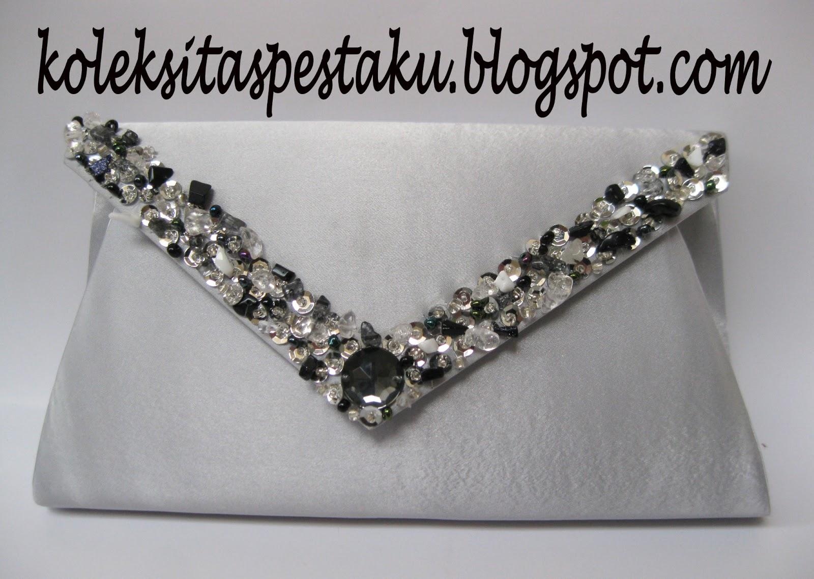 Tas Pesta Cantik. TAS PESTA - CLUTCH BAG KODE KB6 SILVER. Available Now 7c75761600