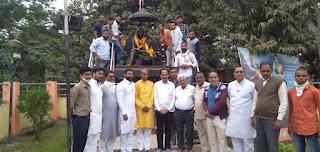राजमाता जीजाबाई ने बहादुरी से छत्रपति शिवाजी महाराज की परवरिश की: श्री पाटिल