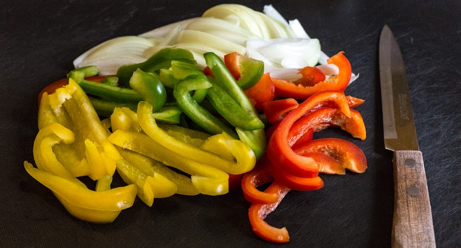 A pile of pretty peppers