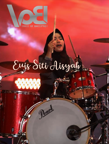 voice of baceprot drumer