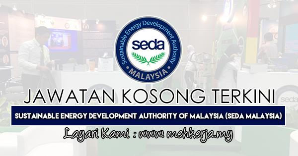 Jawatan Kosong Terkini 2019 di Sustainable Energy Development Authority of Malaysia (SEDA Malaysia)