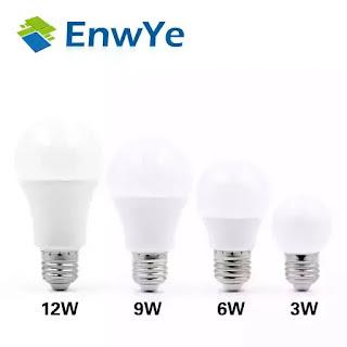 EnwYe lâmpada LED E27 E14
