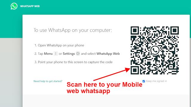 Webwhatsapp Scan QR Code - NewsTrends