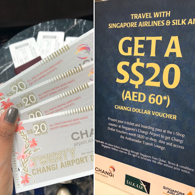 Changi Dollar Voucher