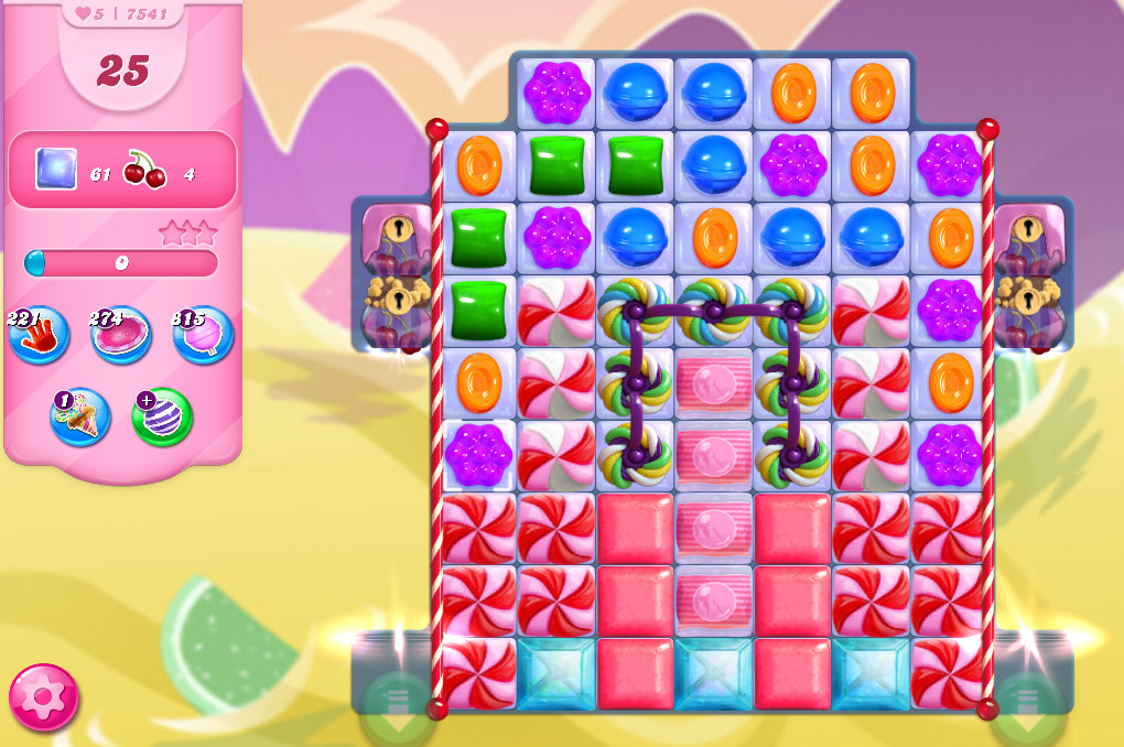 Candy Crush Saga level 7541