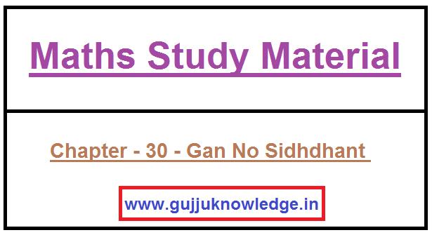 Chapter - 30 - Gan No Sidhdhant
