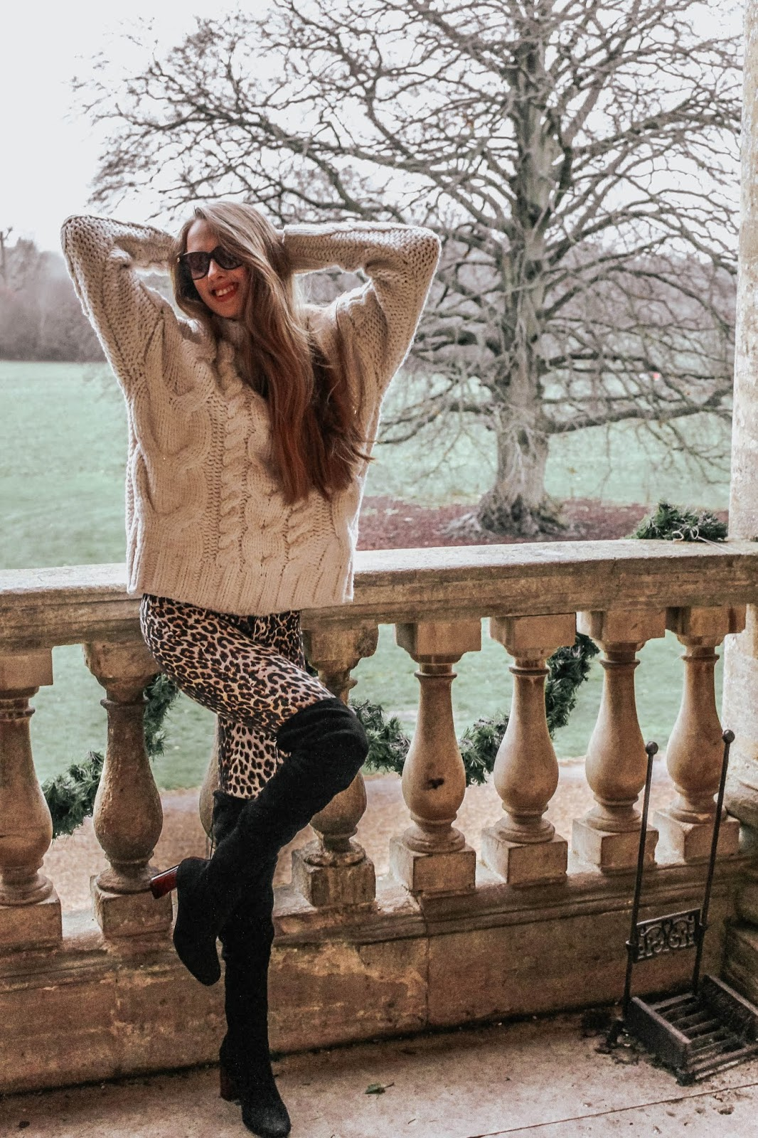 Styling Leopard Print Trousers For Winter