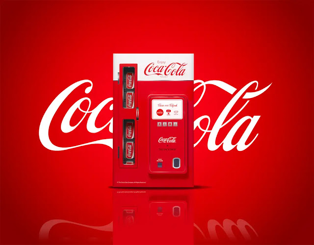 Text logo template of Coca-Cola brand (Photo: Heaz)