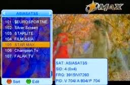 Free to air asian channels