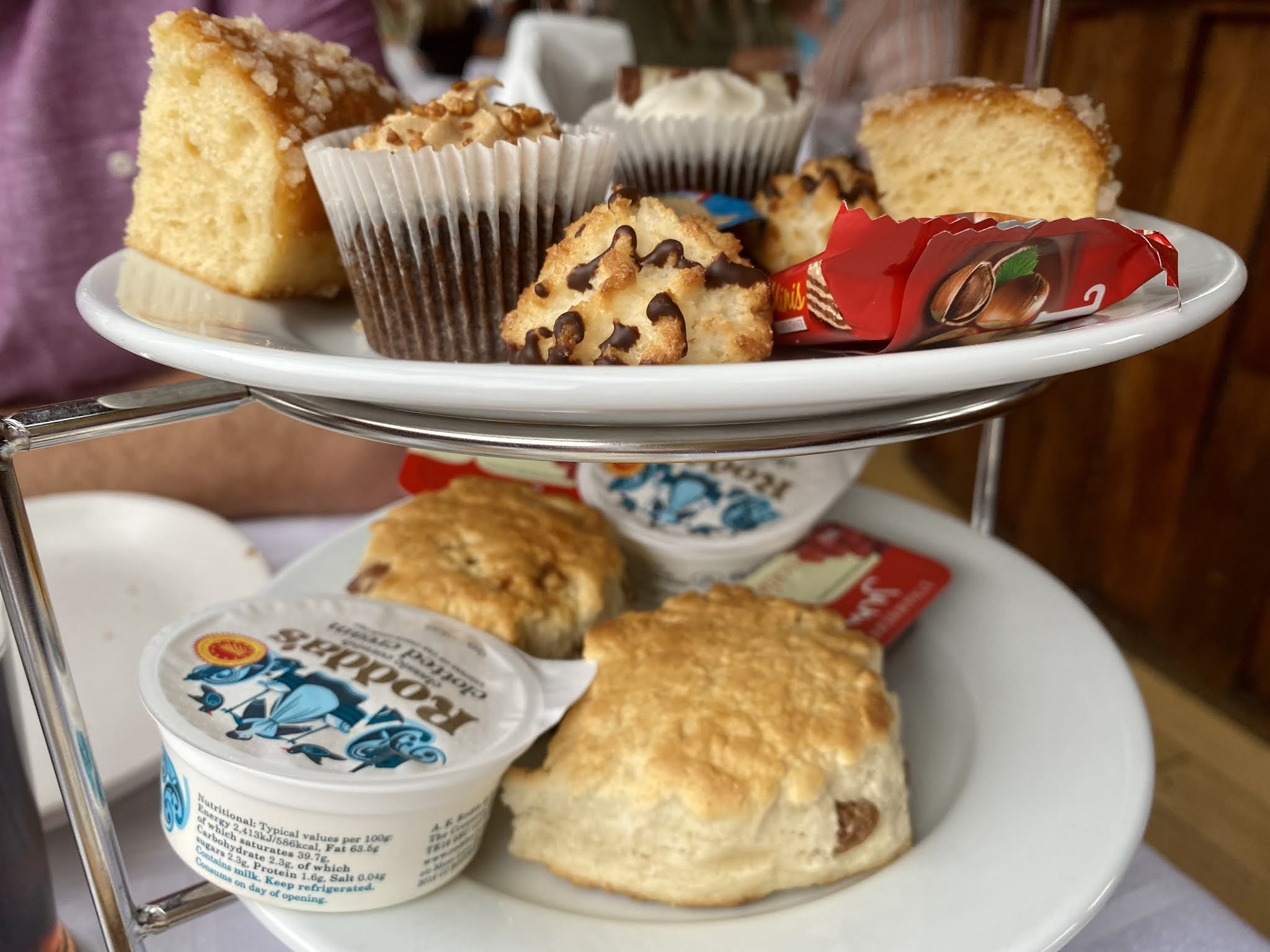 Afternoon Tea on board the floating grace
