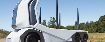 Startup sueca cria caminhão totalmente elétrico e autônomo