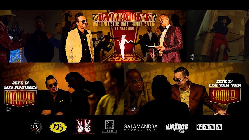 Maykel Blanco y Su Salsa Mayor & Los Van Van - ¨Pa' los mayores y Los Van Van¨ - Videoclip - Dir: Yoharis Alling. Portal Del Vídeo Clip Cubano. Cuba.