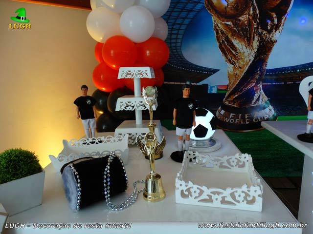 Decoração festa Futebol - Mesa temática de aniversário