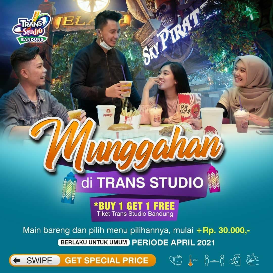 Trans Studio Bandung Promo Spesial Munggahan – Beli 1 Gratis 1 Tiket