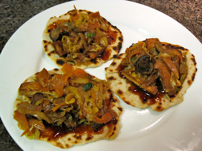 Moo Shu Vegetables Pancakes Veega