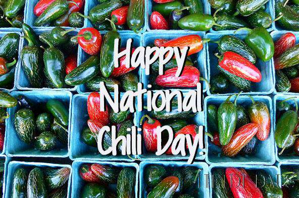 National Chili Day Wishes