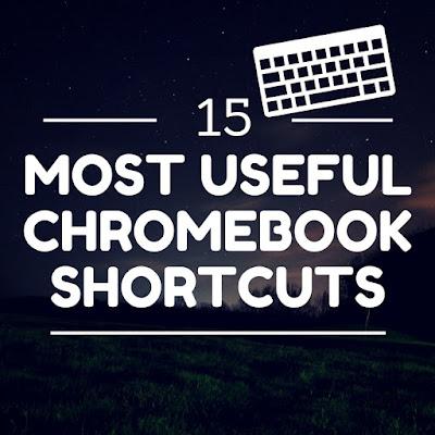 15 most useful Chromebook Shortcuts