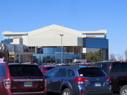 Fort Wayne Home and Garden Show arena