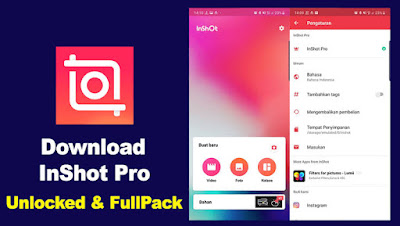 InShot Pro APK v1.623.259 (MOD, Unlocked/All Pack) for Android
