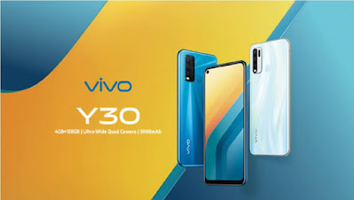 vivo y30 launched with 4 rear camera and 5000mah battery