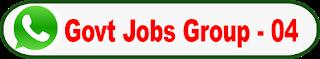 Latest govt job Whatsapp group Link -04