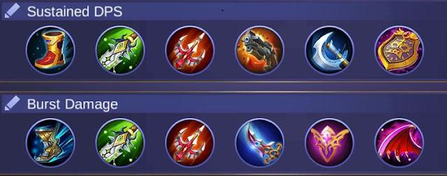 Build Item Lancelot Mobile Legends Terbaru