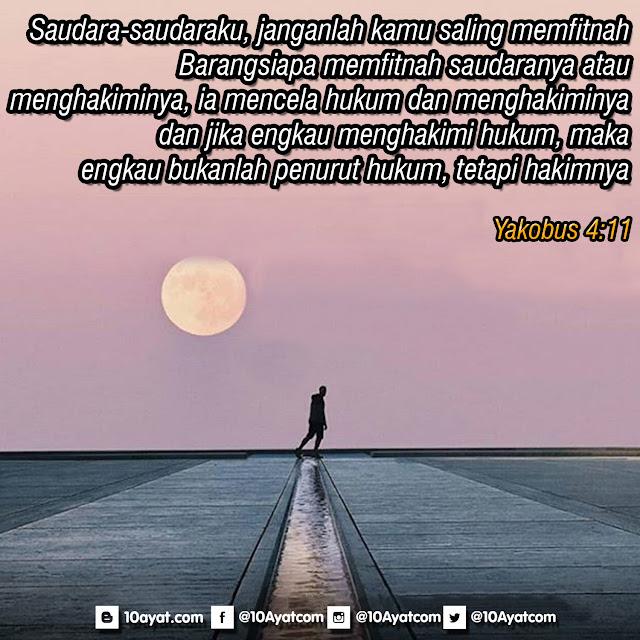 Yakobus 4:11