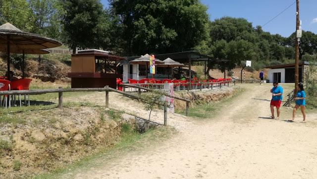 Bar de apoio a praia da pegada